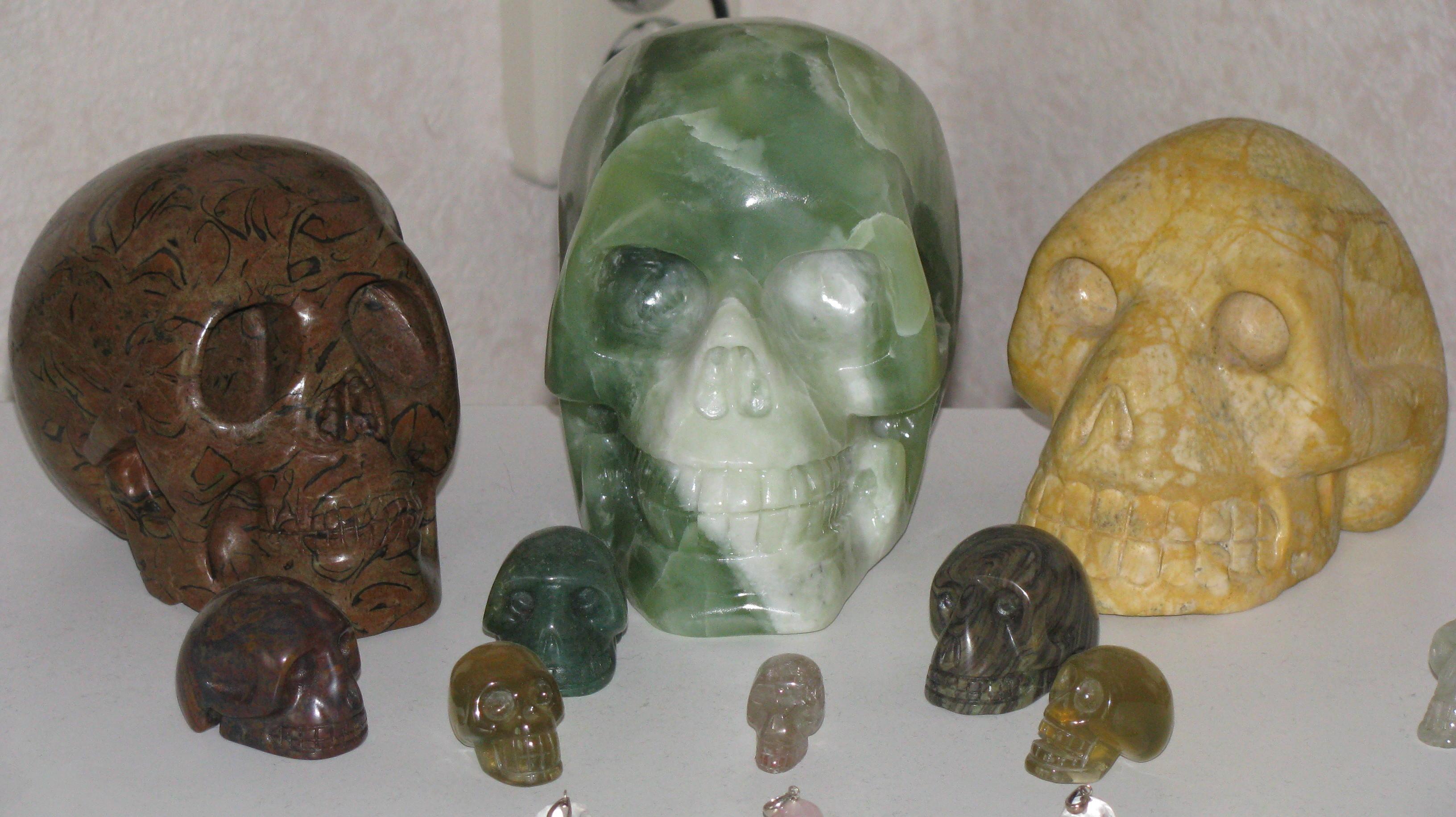 kristallen schedels te koop